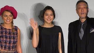 広瀬アリスが東京国際映画祭で自身の主演映画である『巫女っちゃけん。...