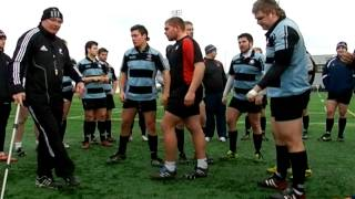 Scrummaging Tips from Mike Cron