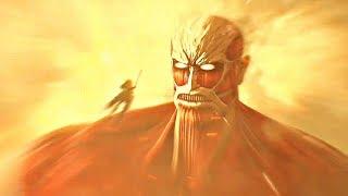 Attack on Titan 2 Final Battle - Ending & Colossal Titan Boss Fight (Season 3)