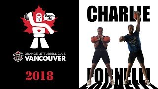 Charlie Fornelli  | Kettlebell Sport Triathlon (Jerk, Snatch, Long Cycle) with the 28 kg kettlebells