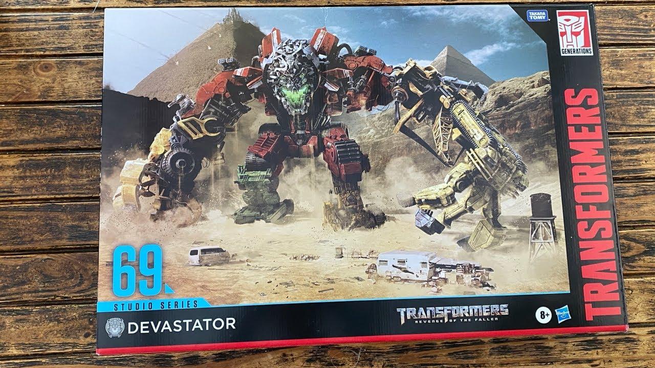 Transformers Studio Series 69 Devastator Comparison Review by PrimeVsPrime