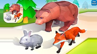 Evolution Animal Rush 3D Game 😊 All Levels Gameplay ios Android Mobile Games Level 1-5