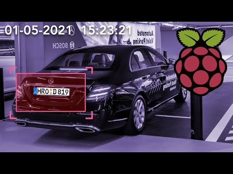 License Plate Detection Demo Using Raspberry Pi Camera