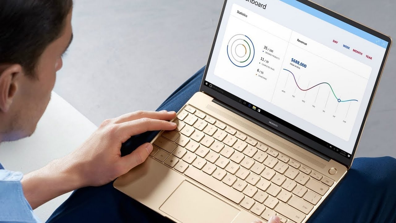 HOT! Huawei MATEBOOK D 2018 Review - YouTube 8f4a09a7391ae