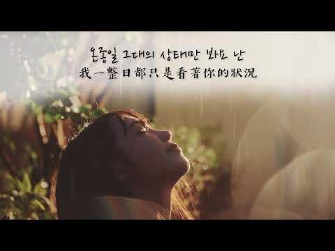 [繁中韓字] 鄭恩地 - 신경 쓰여요(Thinking About You/在意)