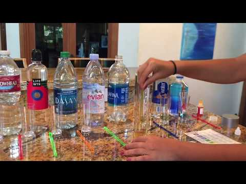 Are You Drinking Acidic or Alkaline Water? UPDATED pH Test on Popular Bottled Water Brands