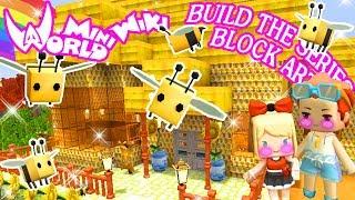 ถ้าเราสร้างบ้านรังผึ้งในป่าสุดหวานเยิ้ม ก็ชีวิตมันขาดความหวานไม่ได้นี่นา Mini World: Block Art