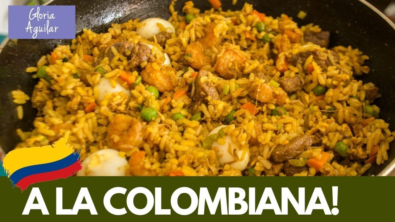 Arroz Chino A La Colombiana Facil Curso De Cocina Completo Youtube