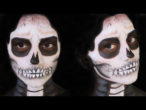 Iskeletor Makyajı Cadılar Bayramı Youtube