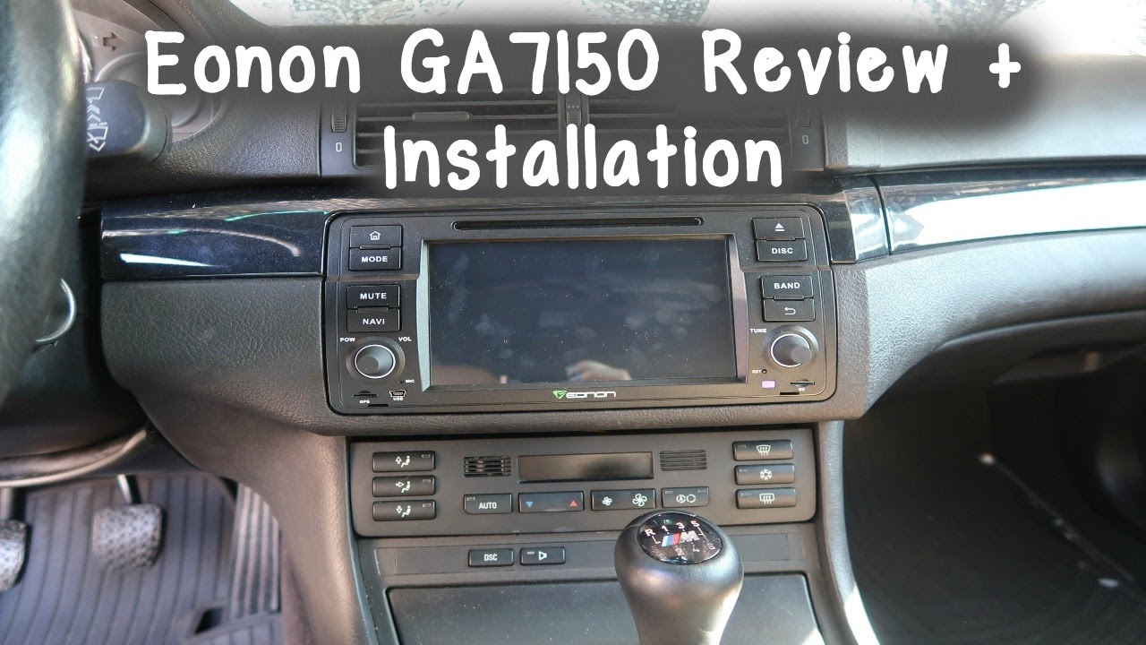 The NEW Eonon GA7150 Review Installation YouTube