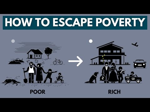 What It Takes to Escape Poverty