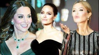 BAFTA 2018 - Самые эффектные образы знаменитостей на красной дорожке