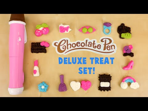 Chocolate Pen Deluxe Treat Kit Toys R Us Exclusive With Purple Chocolate!