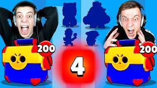 4 BRAWLER IN 1 MEGA BOX?! 😱 1700€ MEGA BOX OPENING BATTLE! | Brawl Stars deutsch