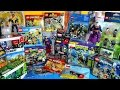 LEGO Marvel Minimates Justice League Avengers Age of Ultron TMNT Epic Toy Haul 1st Qtr 2015