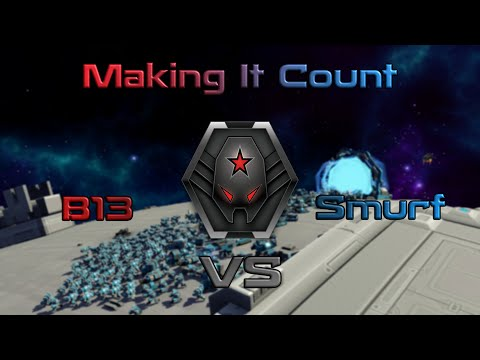 Pro Ranked 1v1 | Make Your Move Count | B13 vs Smurf | PA 543