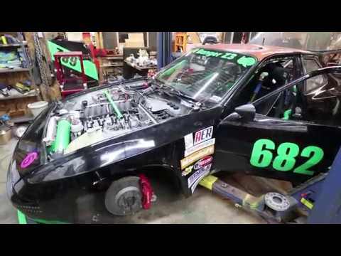 Porsche 944 LS3 race car - The Turkey - post-race inspection and walk around
