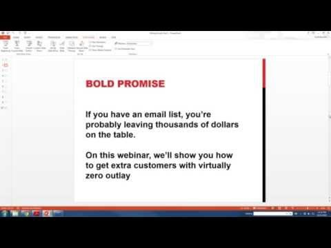 Webinar  How to Get More High Value  Clients from Your Email List