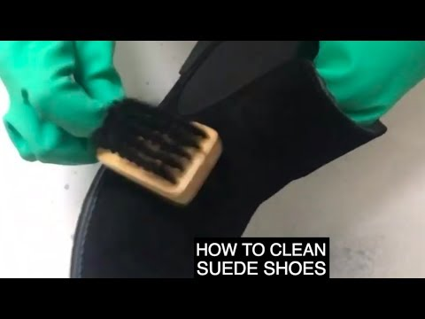 How To Clean Suede/Nubuck Shoes At Home!
