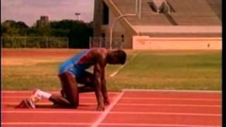 Tom Tellez and Carl Lewis on Sprinting