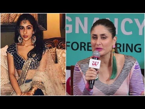 Kareena Kapoor speaks about Sara Ali Khan's Bollywood debut