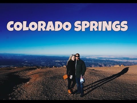 TRAVEL VLOG || COLORADO SPRINGS