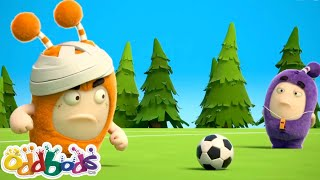 Pronto Per Una Partita Di Calcio? | Oddbods | Cartoni Animati