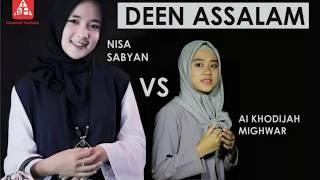 Ini Perbedaan dari Nisa Sabyan dan..... Ai Khodijah El Mighwarr - Deen Assalam