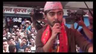 Nepal Idol इटहरीमा निशानको समर्थनमा देखियो जनलहर    Nepal Idol     NIshan Bhattrai   