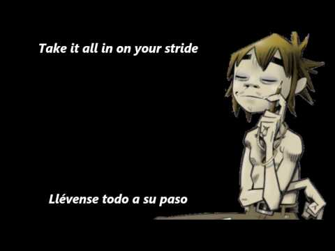 Feel Good Inc [ESPAÑOL-INGLÉS] Gorillaz (Lyrics + Subtitulada)