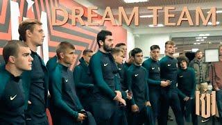Путь в большой футбол  команда мечты! Остались лучшие