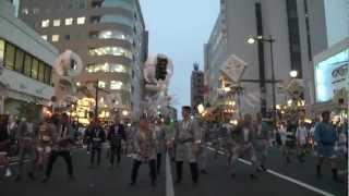 2012年7月20日 熊谷うちわ祭 第1日目 初叩き合いの様子です。 この年の...