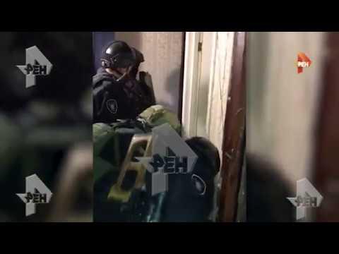 Видео задержания подозреваемых в серии нападений в Москве