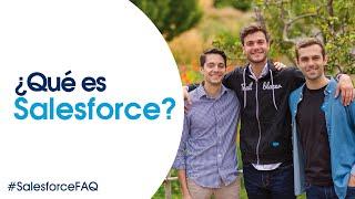 ¿Qué es Salesforce?