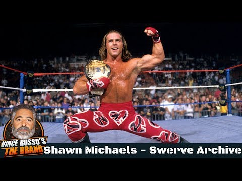 Shawn Michaels Shoot Interview w/ Vince Russo - Swerve Archive