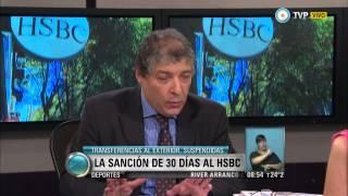 Visión 7 - La sanción por treinta días al HSBC Argentina