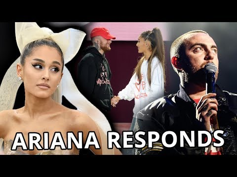 Ariana Grande REACTS To Mac Miller Overdose