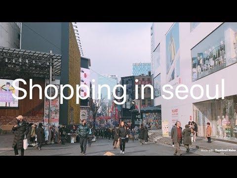 Seoul takes my money | vlogger andrea #shoppinginseoul