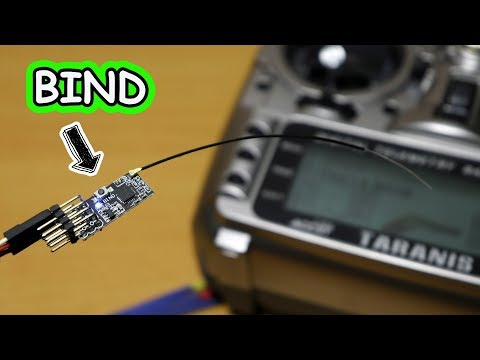 How to Bind FrSky Receiver