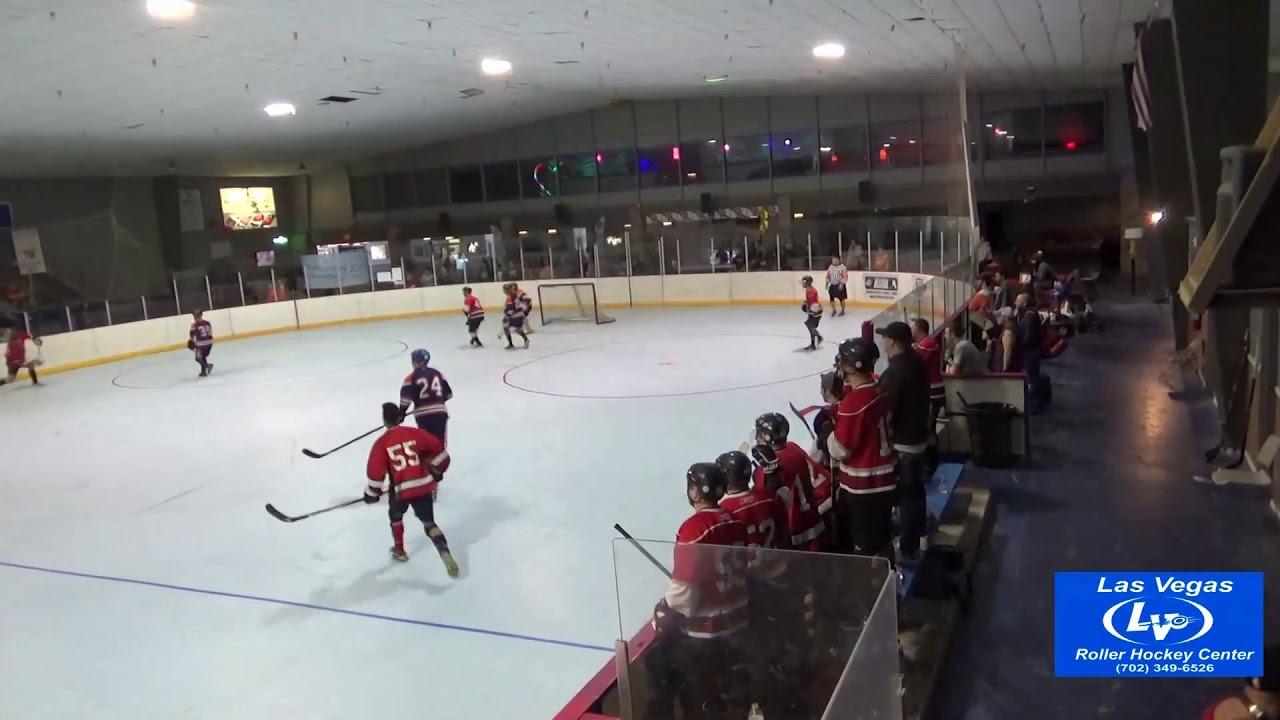 Vegas Ball Hockey Classic Semifinal Kelowna Drillers Vs Edmonton