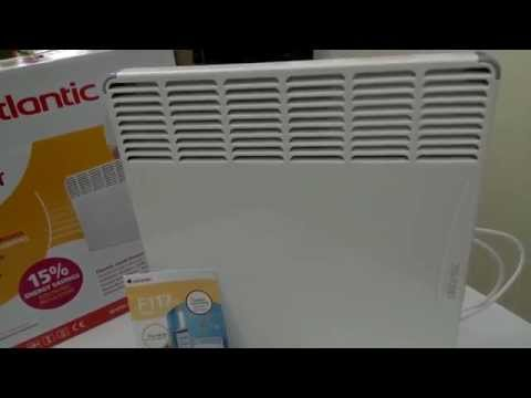 Конвектор Atlantic F117 с электронным термостатом, электрический конвектор купить киев цена