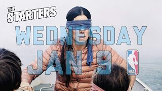 NBA Daily Show: Jan. 9 - The Starters