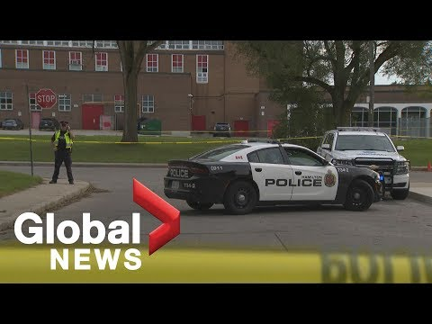 14-year-old boy dead after assault outside of Ontario school, police say