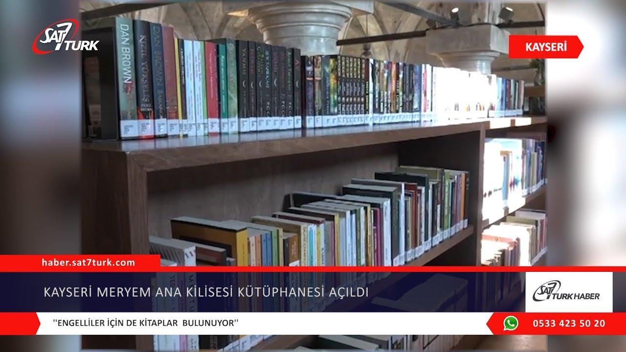 Kayseri Meryem Ana Kilisesi Kütüphanesi Hizmete Başladı   17.01.2020
