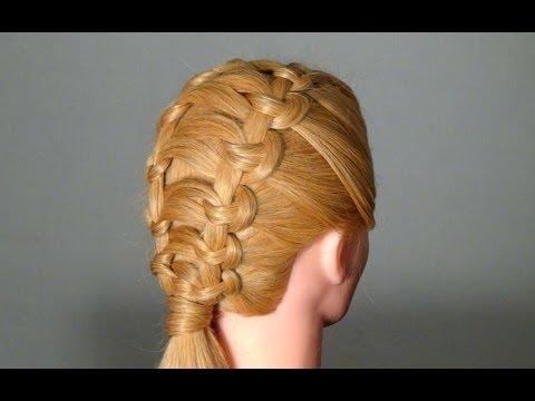 в школу для прически длинных волос фото
