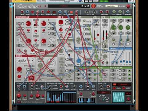 First Patch With Propellerhead Reason Complex-1 Modular Synth