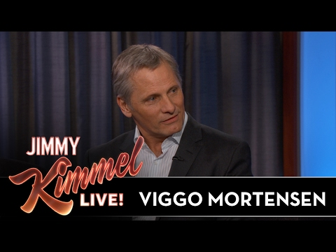 Viggo Mortensen Gives Jimmy Kimmel Oscars Advice