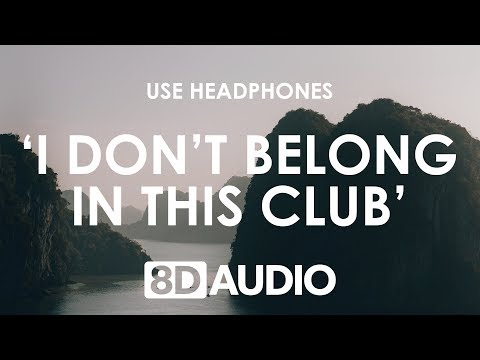 Why Don't We, Macklemore - I Don't Belong In This Club (8D AUDIO) 🎧