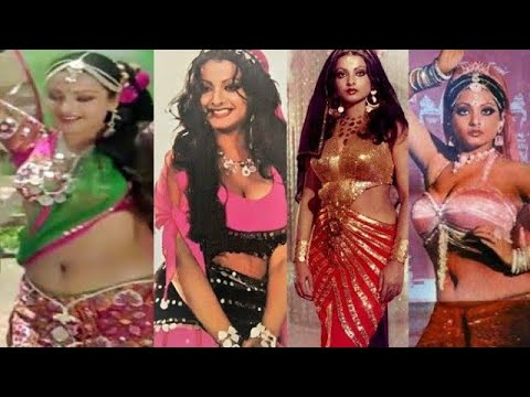 Download Rekha : The Sexy Diva : Hot Navel Show : Mehbooba Mehbooba Song.