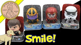 Mighty Mugs Faces! Qi-ra - Thanos - Iron Man & StormTropper